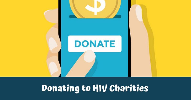 Donating to HIV Charities